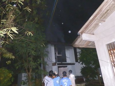 Fire breaks out at Phuket official's residence | The Thaiger
