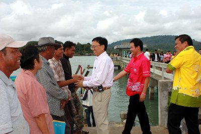 Phuket's 'Coconut Island' gets new pier | The Thaiger