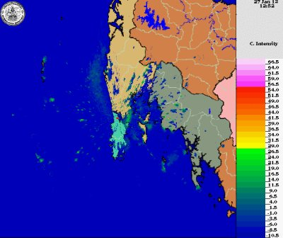 Phuket weather radar out of service | The Thaiger