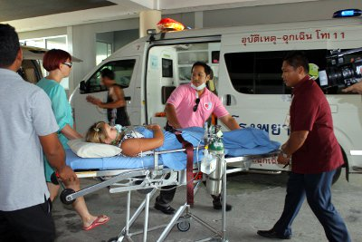 "Dozens injured in Phuket resort pool chlorine ""blast' 