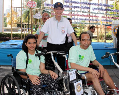 Phuket Rotary Club rolls out high-tech devices for the disabled | The Thaiger