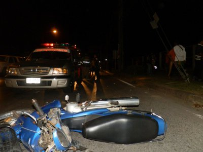 Phuket hotel barman dies in motorbike crash | The Thaiger
