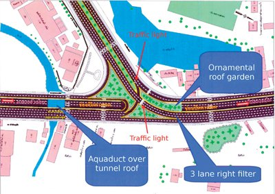 Underpass plans start driving forward | The Thaiger