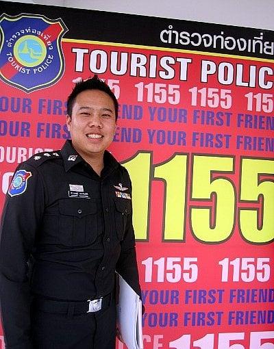 Phuket Tourist Police Volunteers warn of bag snatchers   The Thaiger