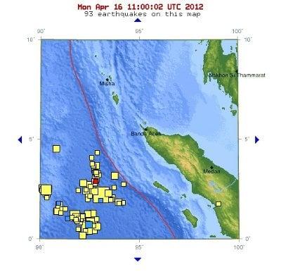 Phuket Earthquake: USGS reports Sumatra quake at depth of 14km | The Thaiger