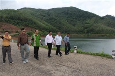 Phuket dam passes post-quake safety inspection | The Thaiger