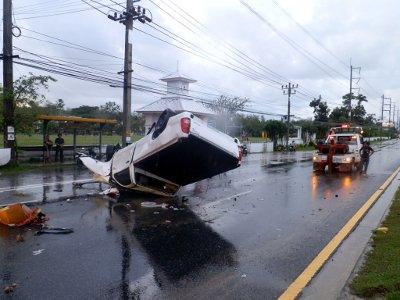 Phuket pickup crash: Thalang trembles | The Thaiger