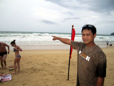 Russian drowns in notorious Phuket rip | The Thaiger