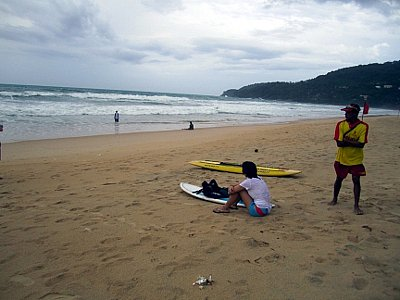 Phuket Governor issues surf warning after Games athlete rescued | The Thaiger