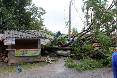 Phuket lashed by storm, flash floods | The Thaiger