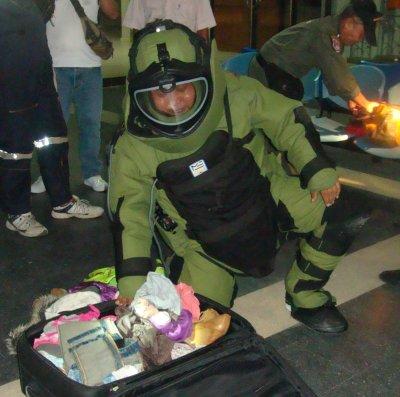 """Bomb' suitcase at Phuket bus terminal a false alarm   The Thaiger"