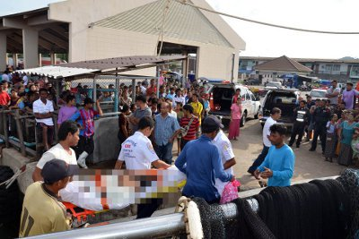 Burmese fisherman, electrocuted at sea, returned to Phuket | The Thaiger