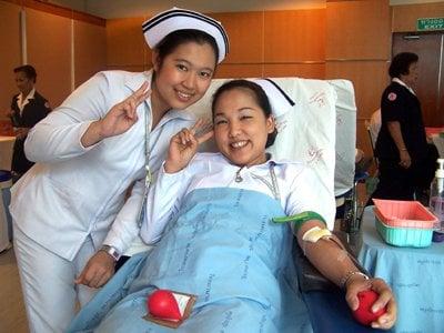 Blood donation drive at Bangkok Hospital Phuket today | The Thaiger