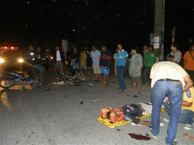 Phuket man critically injured in head-on motorbike smash | The Thaiger