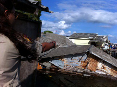 Waterspout rips through five houses in Krabi | The Thaiger
