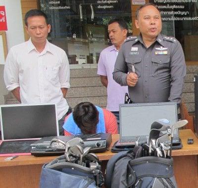 Phuket police arrest Cherng Talay burglar | The Thaiger