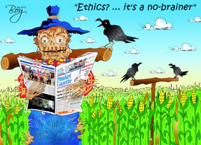 Phuket Opinion: Journalistic ethics cannot be digitized | The Thaiger
