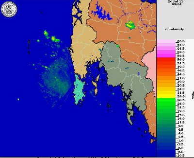 Phuket weekend weather outlook | The Thaiger