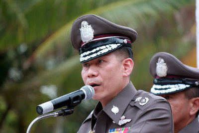 Top police brass calls for public help in making Phuket safer | The Thaiger