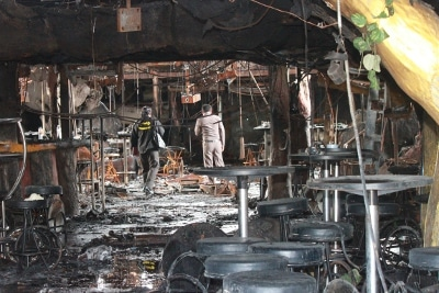 "Four Tiger Disco victims found ""one meter' from fire exit: rescue workers 