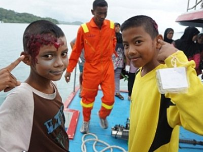 "Full-scale tsunami rescue drill ""freaks out' Phuket tourists 