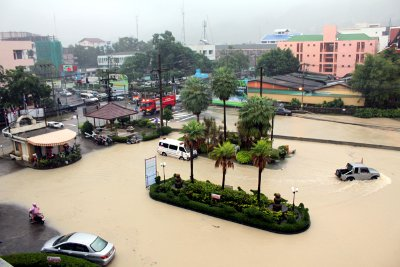 Patong Hospital ramps up flood defenses | The Thaiger