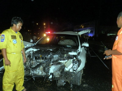 Police urge motorists to slow down as wet weather warning No 14 issued | The Thaiger
