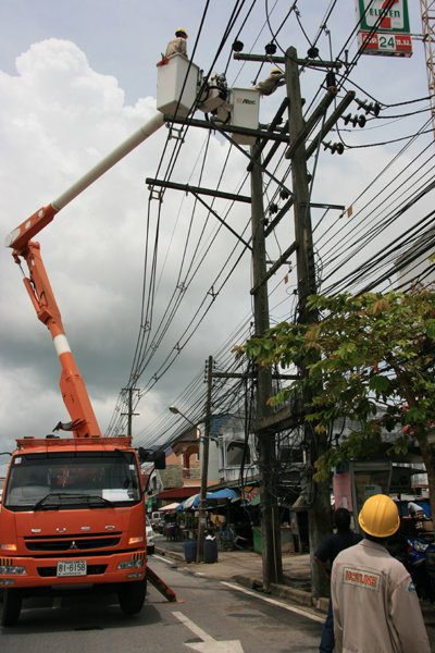 Phuket powers up to fewer scheduled blackouts | The Thaiger