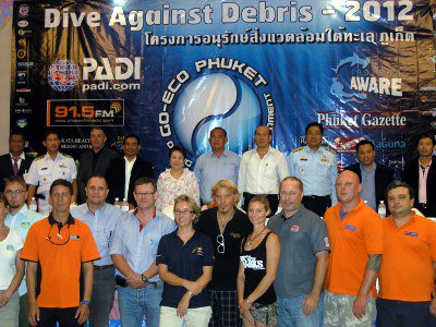 Go-Eco Phuket dives for biggest reef cleanup in world | The Thaiger