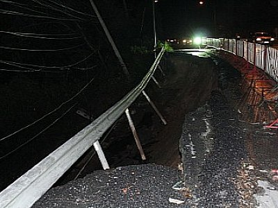 Rain causes Patong Hill road landslide – again | The Thaiger