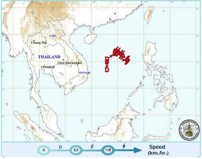 Outfall of tropical cyclone expected to hit Phuket | Thaiger
