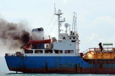 Fire damage to Phuket LPG cargo ship estimated at B400k | Thaiger