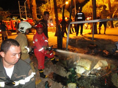 Arson not suspected in Patong lifeguard tower fire   Thaiger