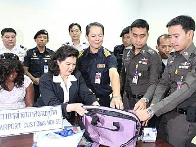 African woman caught with 6kg of meth at Phuket Airport   Thaiger