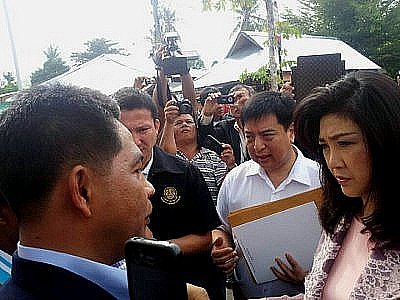 Delegation pitches Phuket ICEC review to PM Yingluck in Samui | The Thaiger
