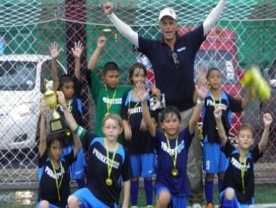 Phuket Soccer Schools U10s own Patong soccer match | Thaiger