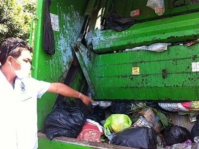 Baby boy's body found in back of Krabi trash truck | The Thaiger
