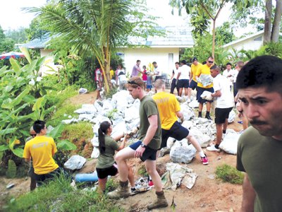 Phuket Life: 100 US Navy service projects in Phuket | The Thaiger