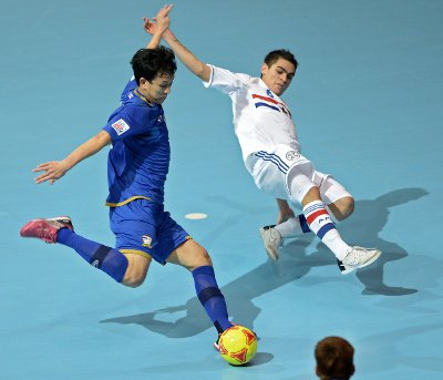 Futsal World Cup: Thailand may still qualify for second round despite losing | The Thaiger