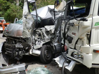 Phuket motorists in three death-defying accidents in one day | The Thaiger