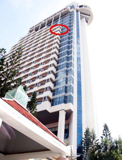 Aussie survives 18-storey hotel plunge | The Thaiger