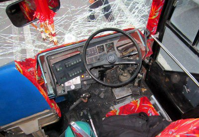 """Police seek arrest warrant for Phuket """"hit-and-run' bus driver 