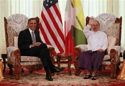 World News: Obama begins historic Myanmar visit | Thaiger