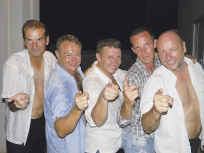 Phuket Lifestyle: SKÃ…L members give up their shirts for charity | The Thaiger