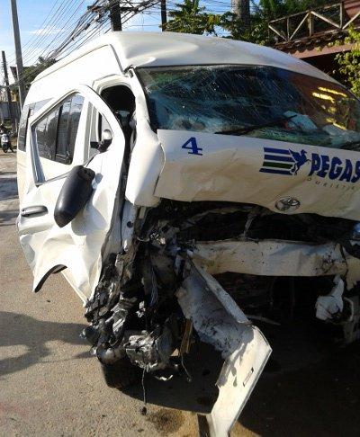 Phuket girl, 12, feared dead in tour van crash | The Thaiger