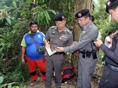 Police tentatively identify body found in Phuket rubber plantation | Thaiger