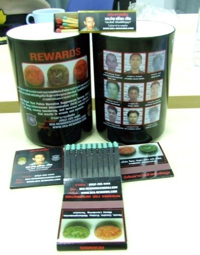 """Phuket's DEA """"drug lord' souvenirs on hold 