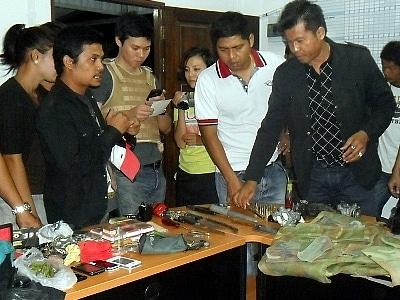 "Phuket police nab notorious ""Junior' gang | The Thaiger"