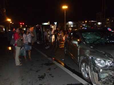 No fatalities as Phuket tour bus overturns | The Thaiger