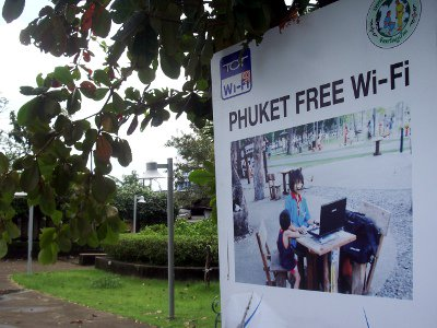 Free Wi-Fi in two Phuket Town parks   The Thaiger